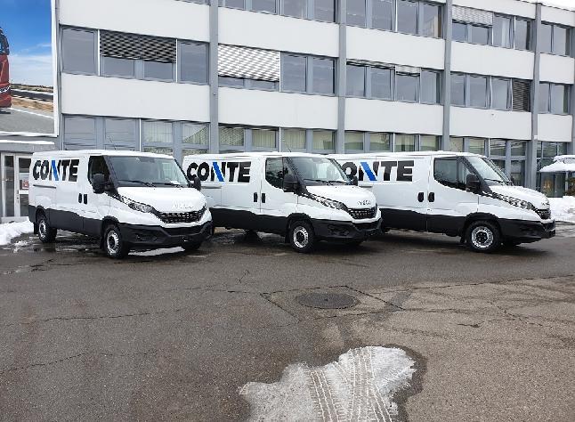 Auslieferung an Conte Transport
